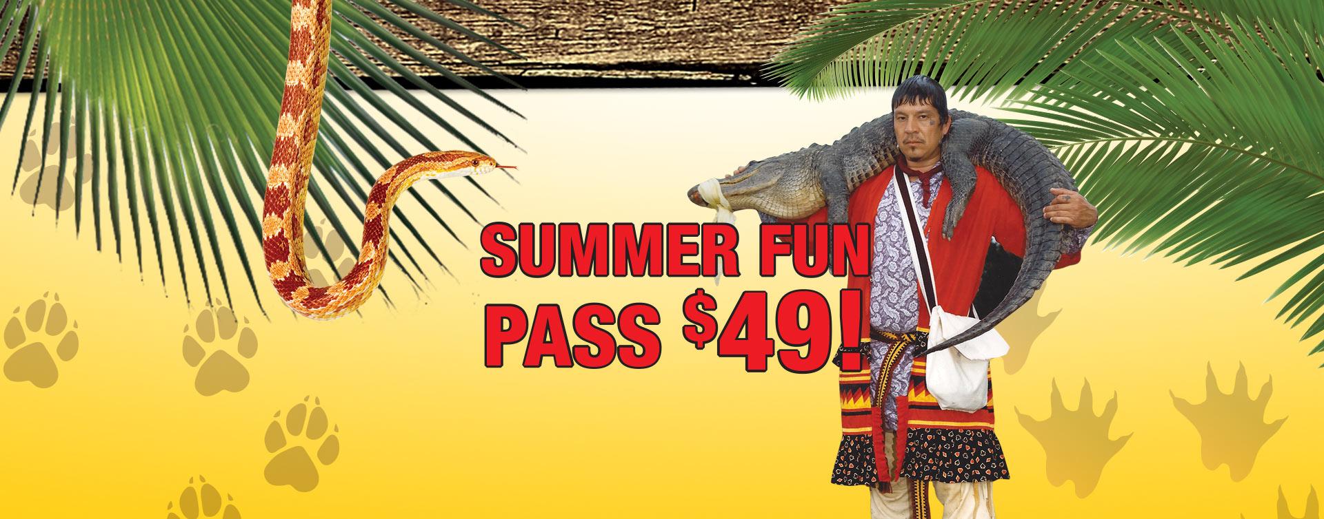 Billie Swamp Safari Summer Fun Pass